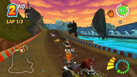 Crash Tag Team Racing (USA) PSP ISO High Compressed ...
