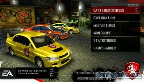 Need For Speed Carbon Own The City Usa Psp Iso High Compressed