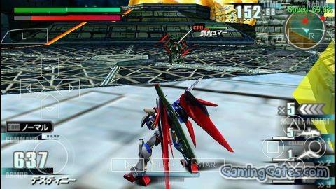 Gundam vs  Gundam NEXT PLUS (English Patch) PSP ISO High