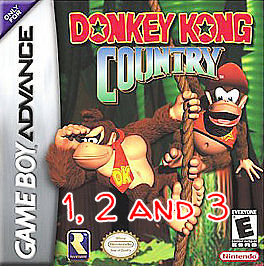 donkey kong country gba 4