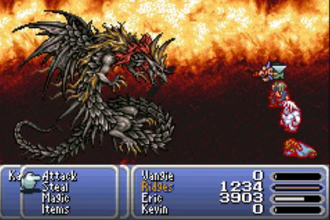 download Final Fantasy VI Advance gba 1