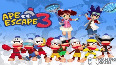 Ape Escape 3 PS2 ISO
