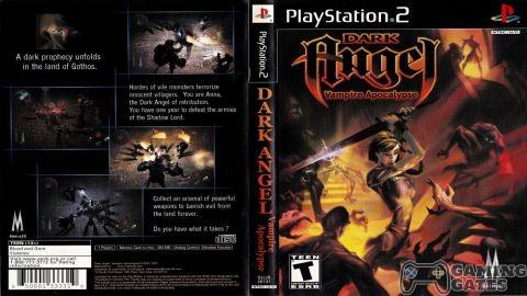 Dark Angel Vampire Apocalypse (USA) PS2 ISO High Compressed