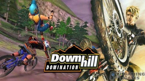 Downhill Domination (USA) PS2 ISO High Compressed - Gaming Gates
