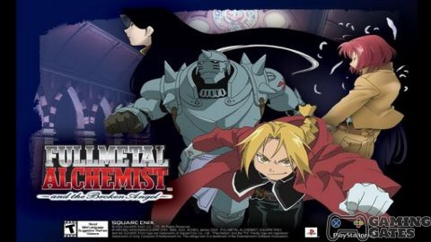 Fullmetal Alchemist and the Broken Angel (USA) PS2 ISO High